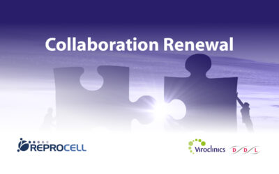 REPROCELL and VIROCLINICS-DDL Renew Collaboration Agreement in Clinical Research